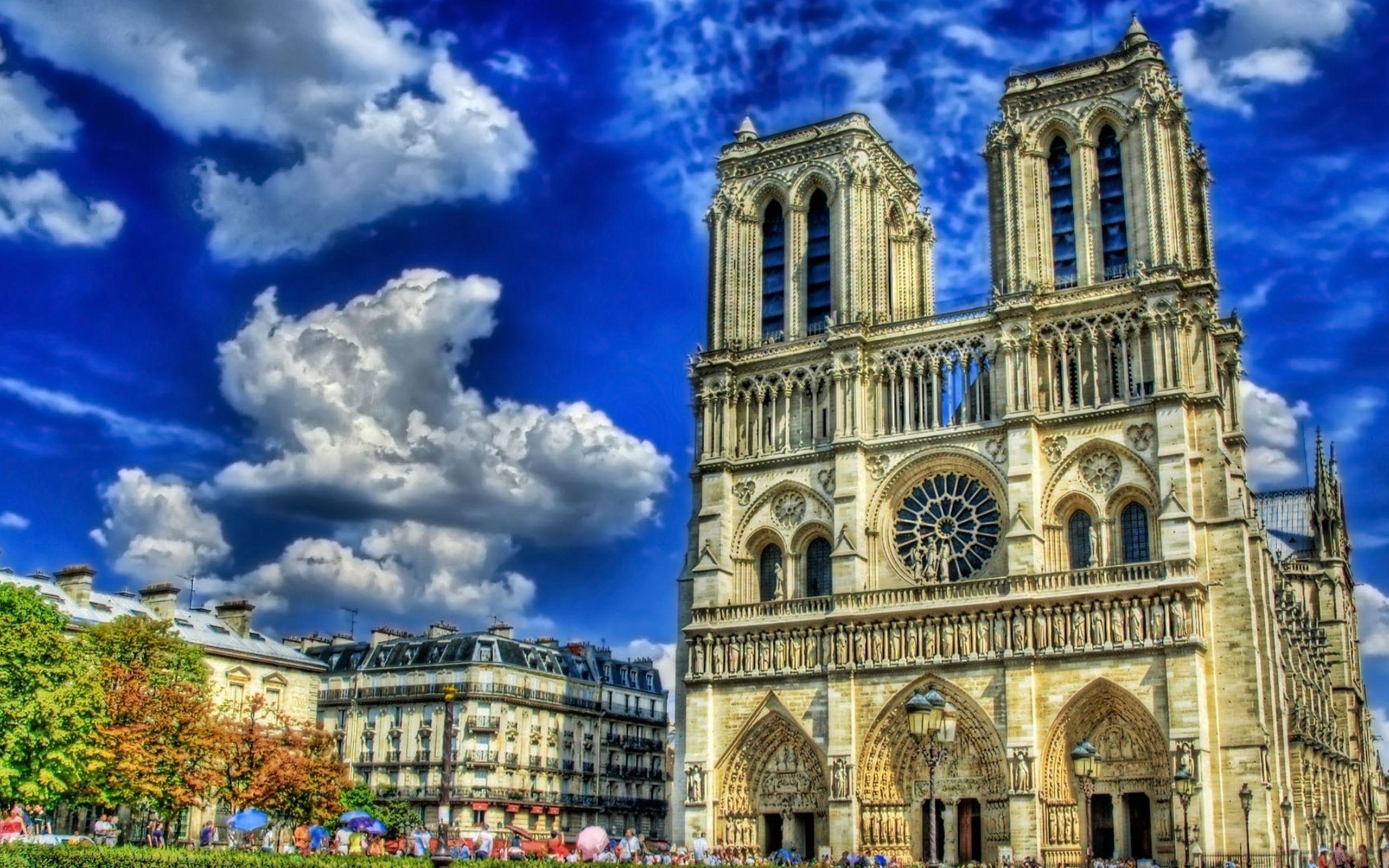 Нотр-Дам де Пари собор Париж скачать
